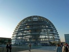 Die Reichstagskuppel von aussen