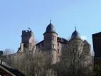 Blick von der Burg auf den Main